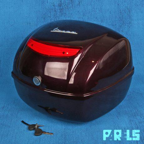 topkoffer Vespa helm koffer scooter brommer