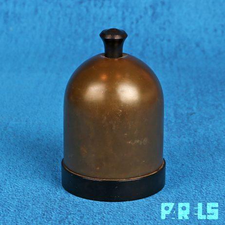 vintage sigarettenhouder Rio Tiel bakeliet stolp metaal