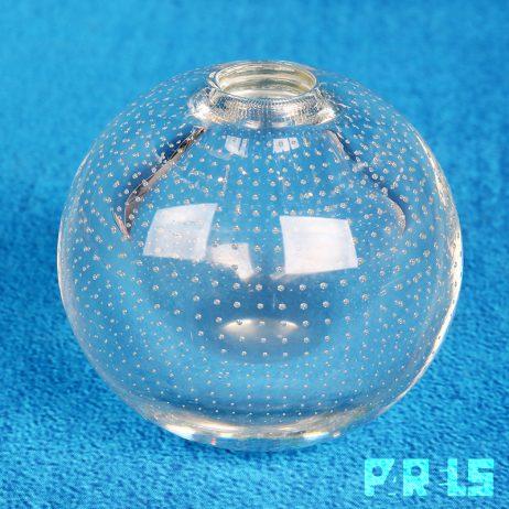 vintage glazen spijkervaasje AD Copier glasfabriek Leerdam glas