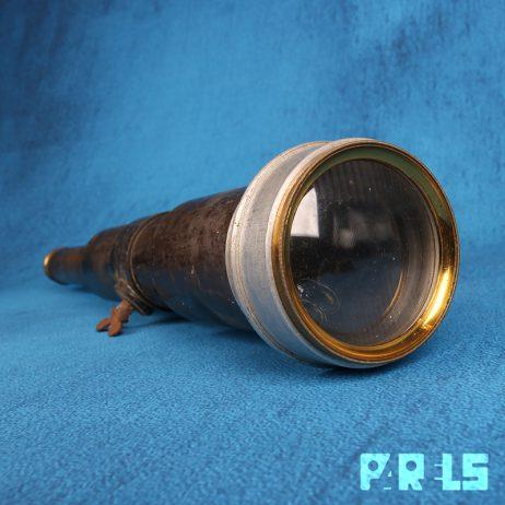 Antieke nautische telescopische verrekijker schepen scheepsverrekijker telescoop koper lens