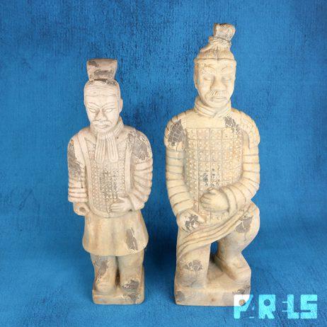 set grote beelden terracotta China leger krijgers replica gips groot beeld