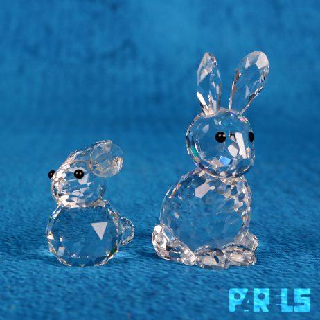 set helder kristallen haas konijn Swarovski kristal