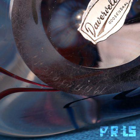 vintage kristallen vaas Max Verboeket Kristalunie Maastricht glas kunstenaar 039 Kristaluniek gesigneerd