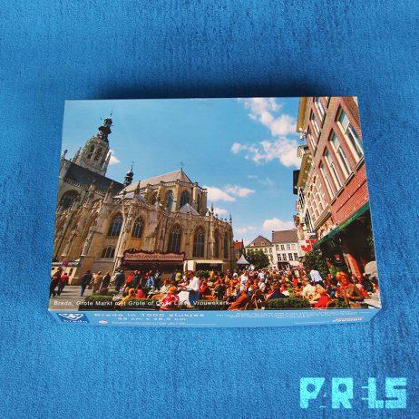 puzzel 1000 stukjes breda grote markt/onze lieve vrouwe kerk
