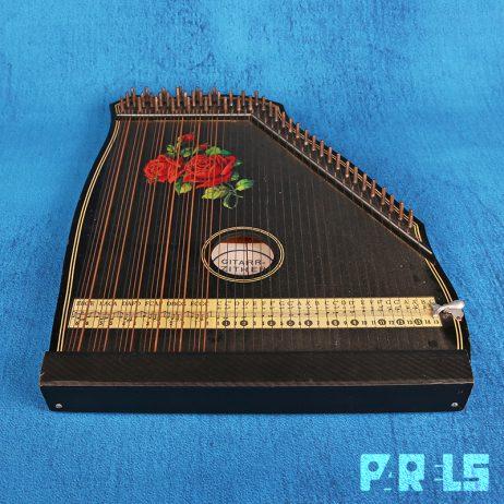 vintage tafelciter concert mandoline zither instrument Duitsland Germany snaarinstrument Gitarr-Zither