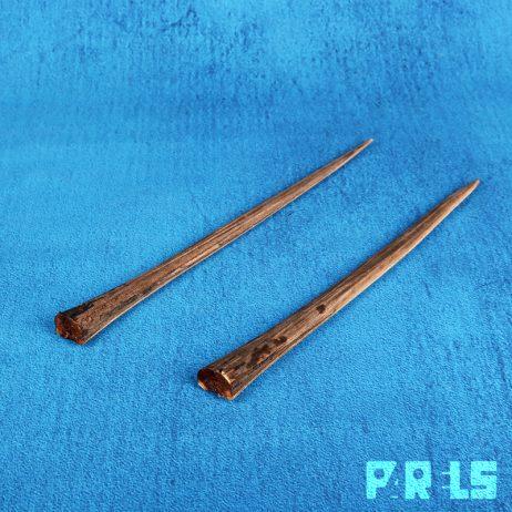 set zwaardvis rostrums zwaard neus been bot schedel Xiphias Gladius