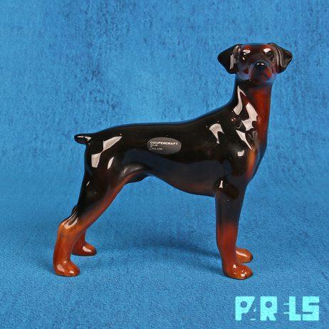 beeldje hond Dobermann Coopercraft Engeland Doberman ras
