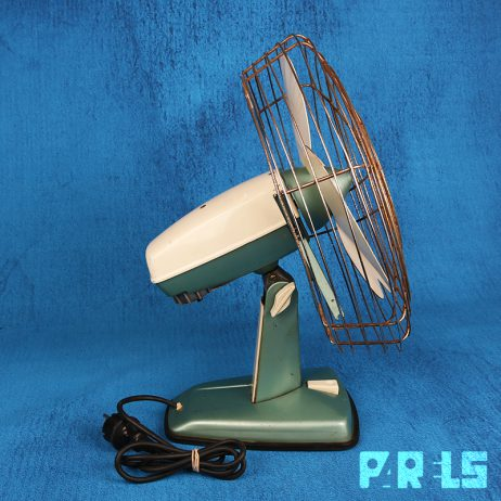 vintage ventilator Indola Holland TF-12 tafelventilator