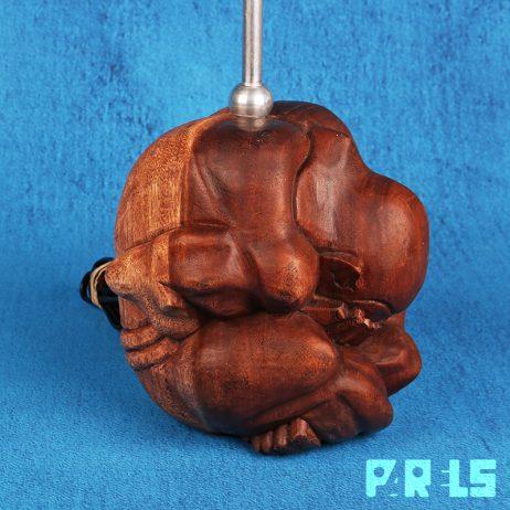 upcycling tafellamp Orang Malu Boeddha Yogiman lamp
