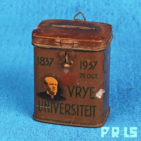 collectebus Vrije universiteit 1837 1937 vrouwen comité Abraham Kuyper