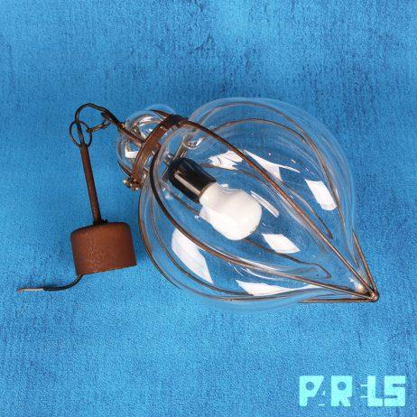 glazen hanglamp venetiaans
