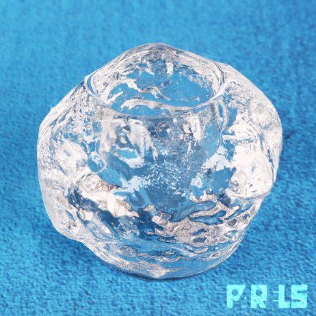 waxinelichthouder Kosta Boda Zweden ijs glas theelicht kaarsje