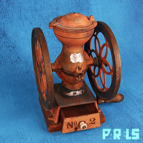 Antieke Koffiemolen Enterprise MFG Co. Philadelphia USA 1898 vintage gietijzer Amerika