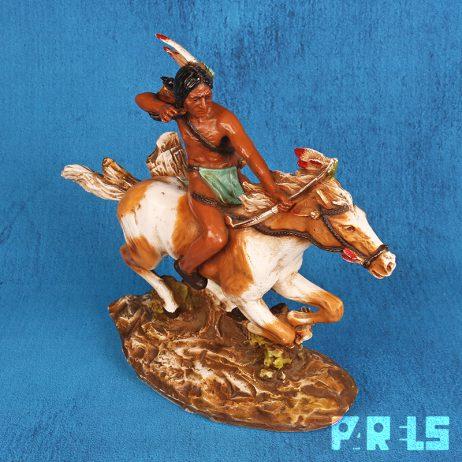 universal statuary corp 060 indiaan te paard usa chicago