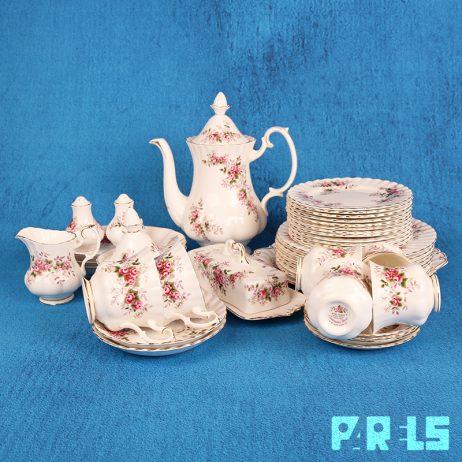 vintage royal albert porselein servies lavender rose engeland