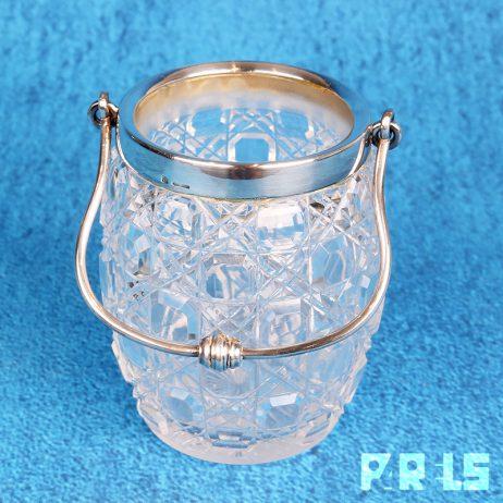 vintage ijsemmer cristofle frankrijk kristal