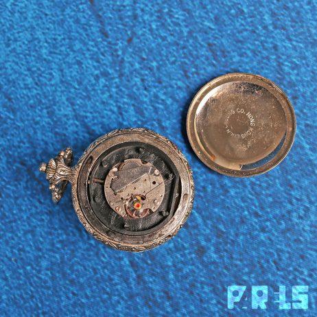vintage Remington zakhorloge stoomtrein locomotief Quartzarama Luen Cheung Co. Hong Kong PG Time Ltd jewel hongkong swiss Zwitserland