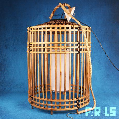 extra grote hanglamp bamboe rotan Rivièra Maison Es Cubells groot