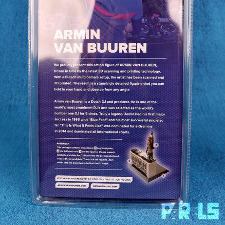 Armin van Buuren DJ Action figure 3D miniatuur