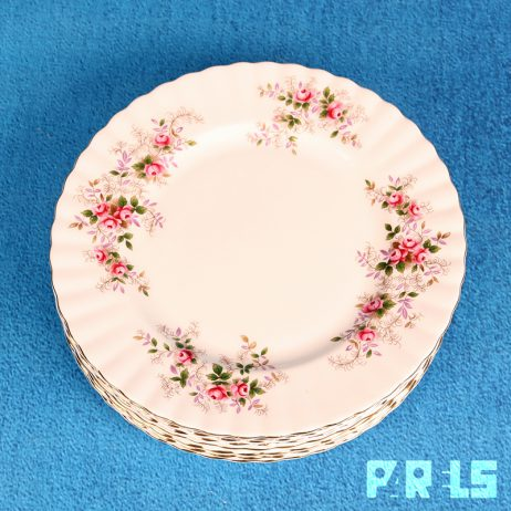 ontbijtborden royal albert bone china lavender rose