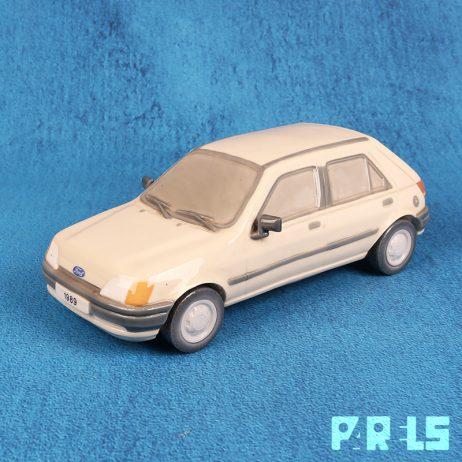 Ford Fiesta auto 1989 porselein Lladro Spanje
