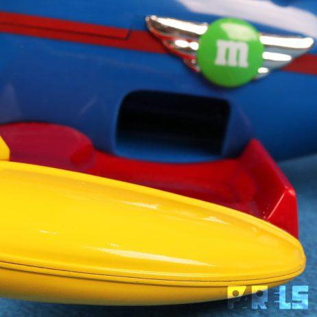 M&M dispenser vliegtuigmodel