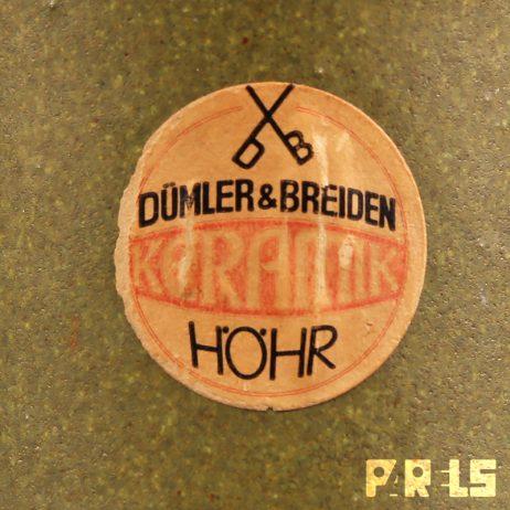 Dümler & Breiden keramiek vaas west-germany
