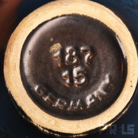 vaasje keramiek Dümler & Breiden Höhr Keramik vaas West Germany Duitsland lavaglazuur