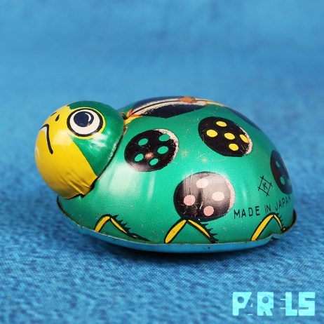 vintage blikken speelgoed lieveheersbeestje ladybug Koyo Toy Company Japan 207738