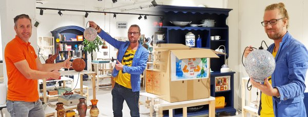 Stef Goedhart - winnaar vanPETnaarPRET lamp