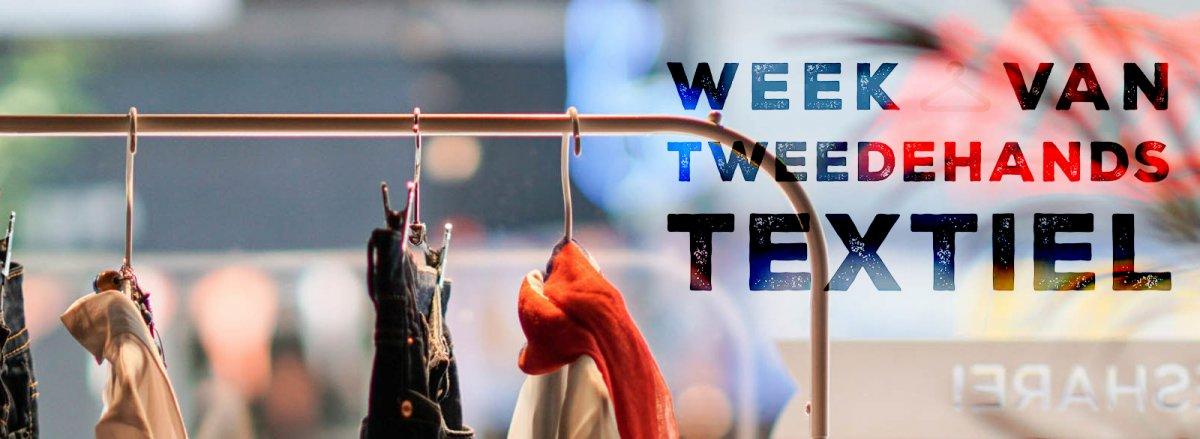 Week van de tweedehands textiel
